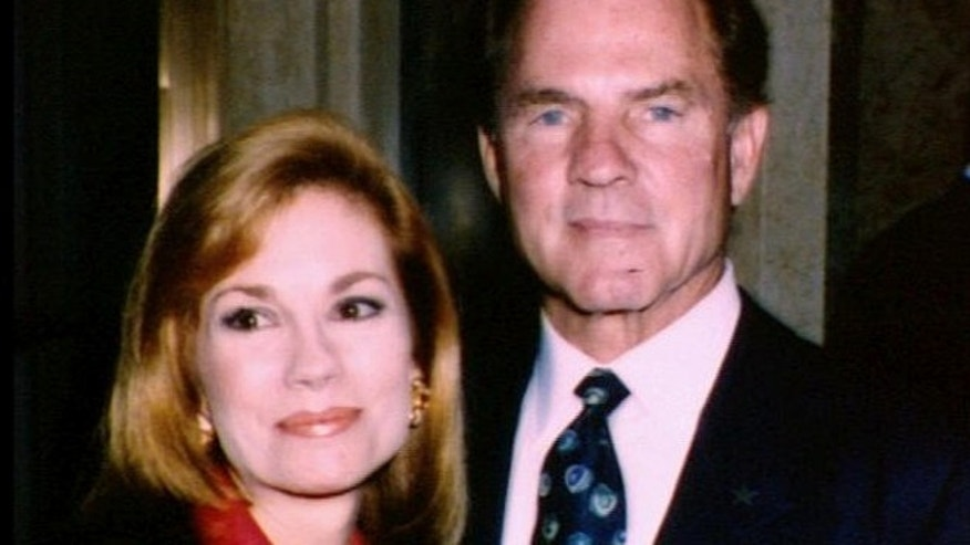 Kathie Lee and Frank Gifford are shown in 1992.