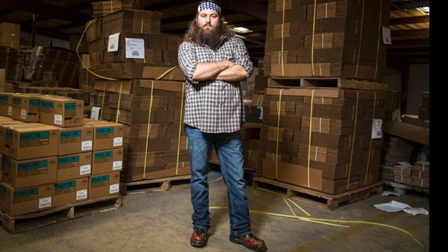 "Willie Robertson appears on A&E's ""Duck Dynasty."""