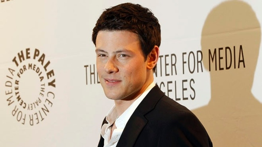 FILE: March 16, 2011: Cast member Cory Monteith poses at the Paley Center for Media's PlayFest 2011 event honoring the television series 'Glee' at the Saban theatre in Los Angeles.