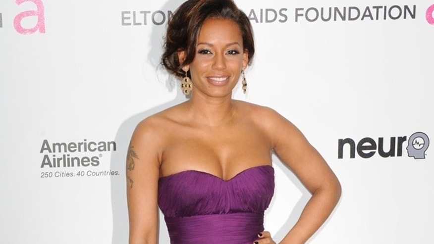 Singer Melanie Brown arrives at the 18th Annual Elton John AIDS Foundation Academy Award Viewing Party in West Hollywood, California March 7, 2010.