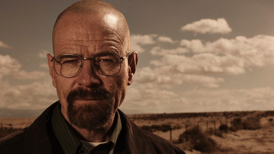 "Bryan Cranston is shown as Walter White in ""Breaking Bad."""