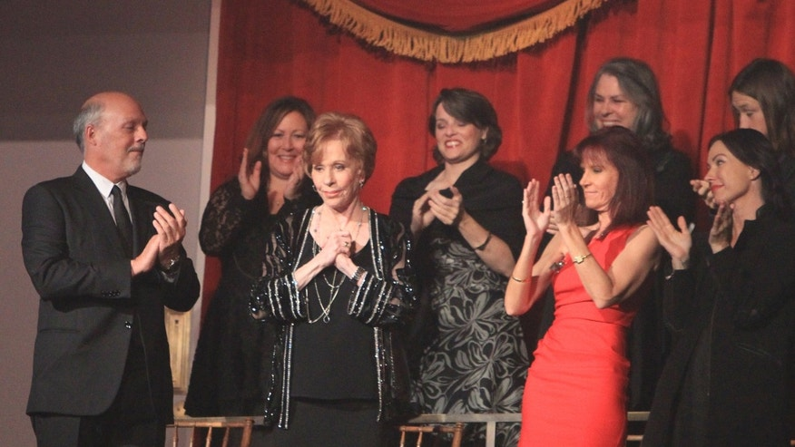 Oct. 20, 2013 - Carol Burnett is honored with the Mark Twain Prize at the Kennedy Center in Washington, D.C.