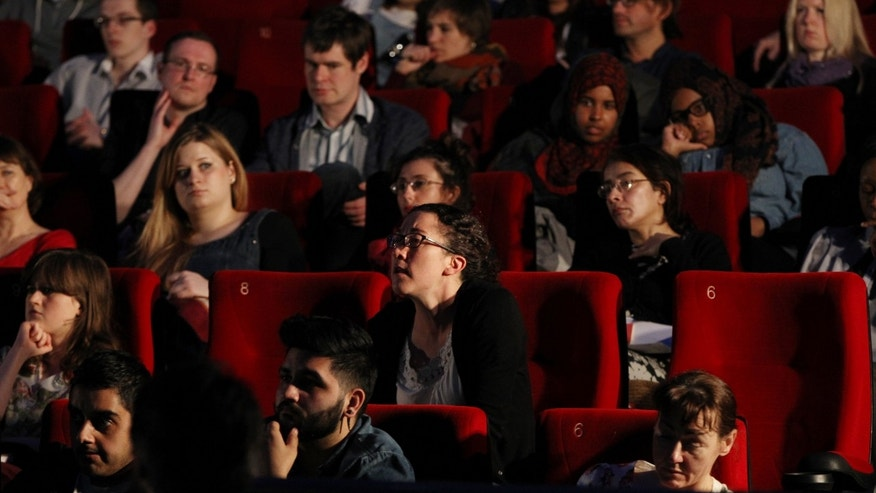 LONDON, ENGLAND - APRIL 25:  A general view of the audience at the Outreach Future Film Makers at Cineworld 02 Arena on April 25, 2013 in London, England.  (Photo by Danny E. Martindale/Getty Images for Sundance London)