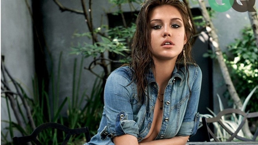 Adele Exarchopoulos appears in GQ.
