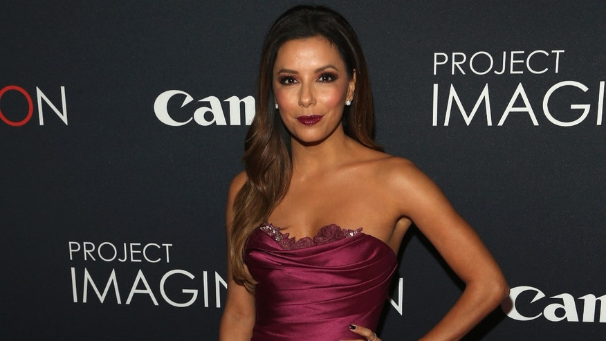 Eva Longoria attends the Premiere Of Canon's Project Imaginat10n Film Festival at Alice Tully Hall on October 24, 2013 in New York City.