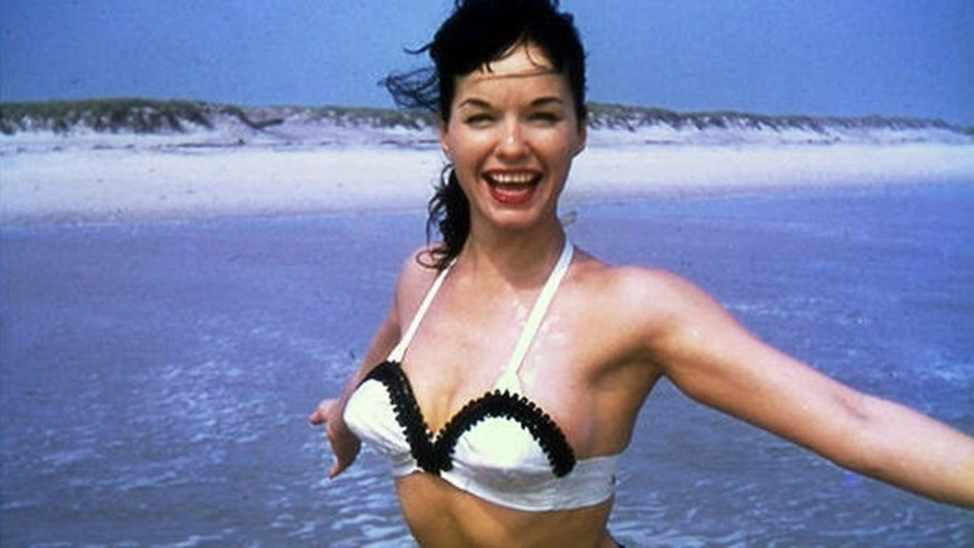 Bettie Page is seen in this undated file photo.