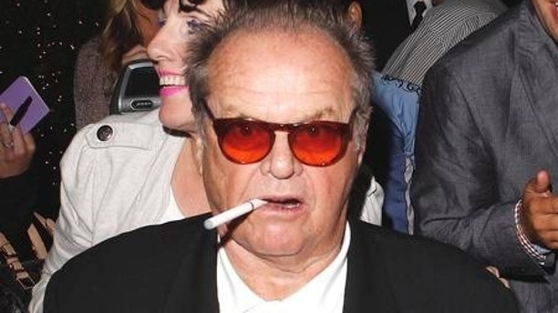 Jack Nicholson must be taking his health into consideration as the aging legend was seen smoking an electronic cigarette at Mr. Chow. August 2, 2012 X17online.com