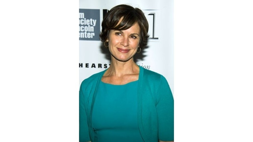 "FILE - This Oct. 8, 2013 file photo shows ABC News anchor Elizabeth Vargas at the New York Film Festival premiere of ""All Is Lost"" in New York. (AP Photo)"