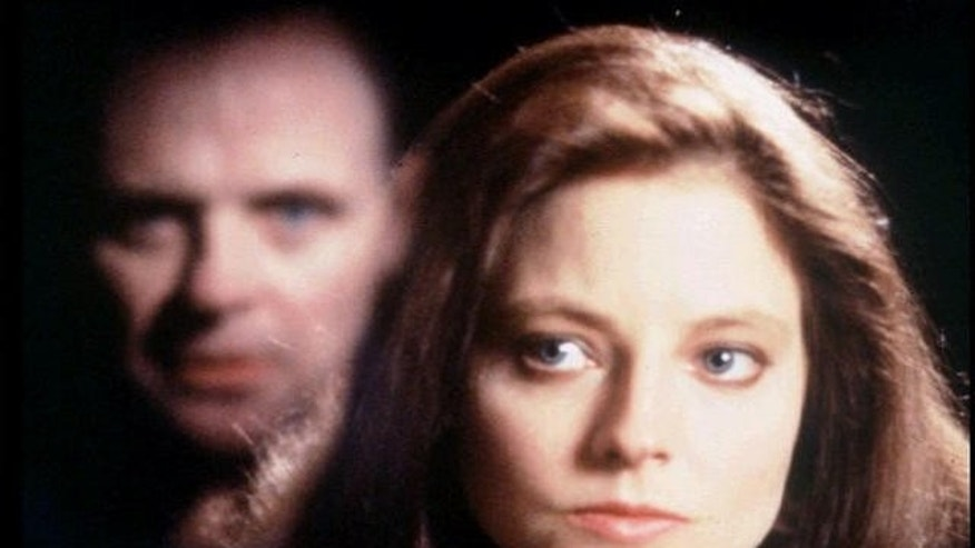 "Jodie Foster as Clarice Starling in scene from movie ""Silence of the Lambs."""