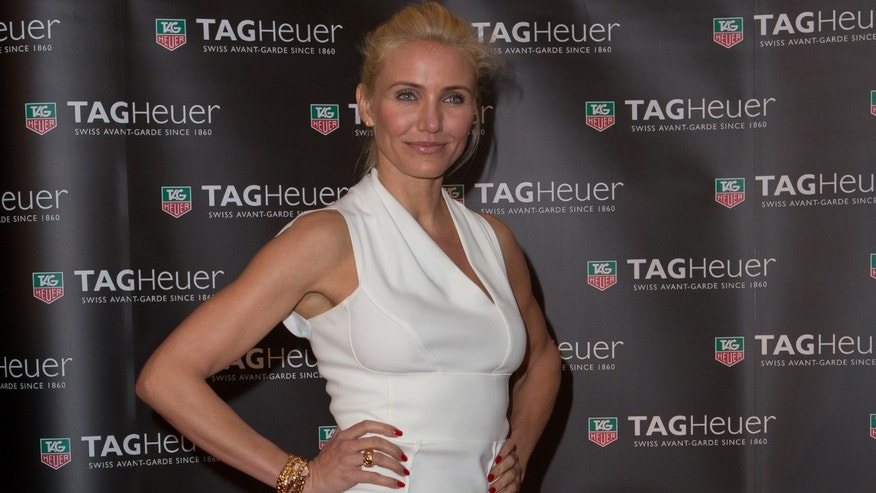 Cameron Diaz attends the TAG Heuer Host 2013 Monaco Grand Prix Party on May 25, 2013 in Monaco.