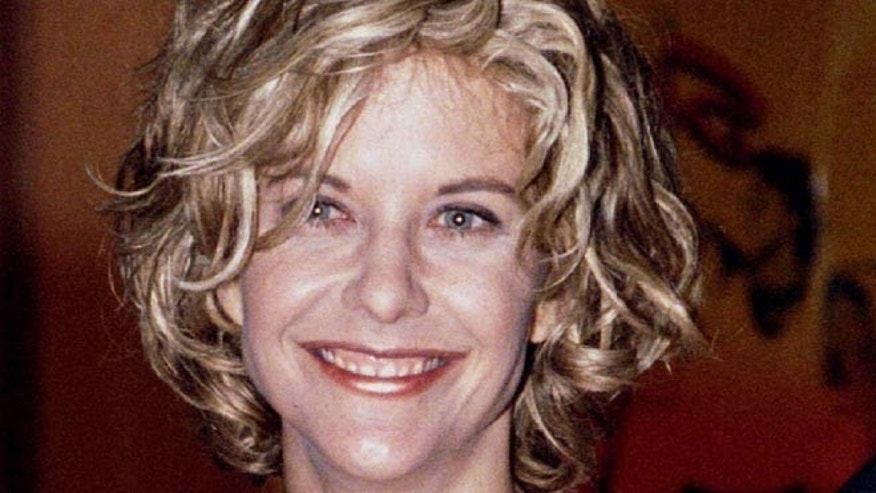 "Meg Ryan, one of the stars of the new film ""Courage Under Fire,"" poses at the film's premiere July 8. The film also stars Denzel-Washington. - RTXGMT1"