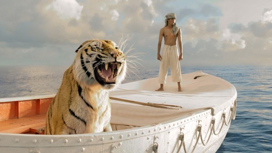 "Suraj Sharma as Pi Patel in a scene from ""Life of Pi."""