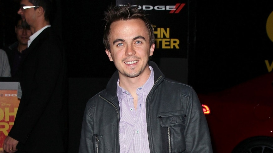 "LOS ANGELES, CA - FEBRUARY 22:  Actor Frankie Muniz attends the premiere of Walt Disney Pictures' ""John Carter"" at Regal Cinemas L.A. Live on February 22, 2012 in Los Angeles, California.  (Photo by David Livingston/Getty Images)"
