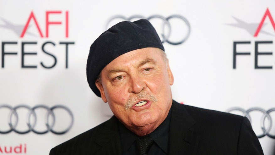 "Actor Stacy Keach arrives for a gala screening of his new film ""Nebraska"" directed by Alexander Payne, at the AFI Fest 2013 in Hollywood November 11, 2013."