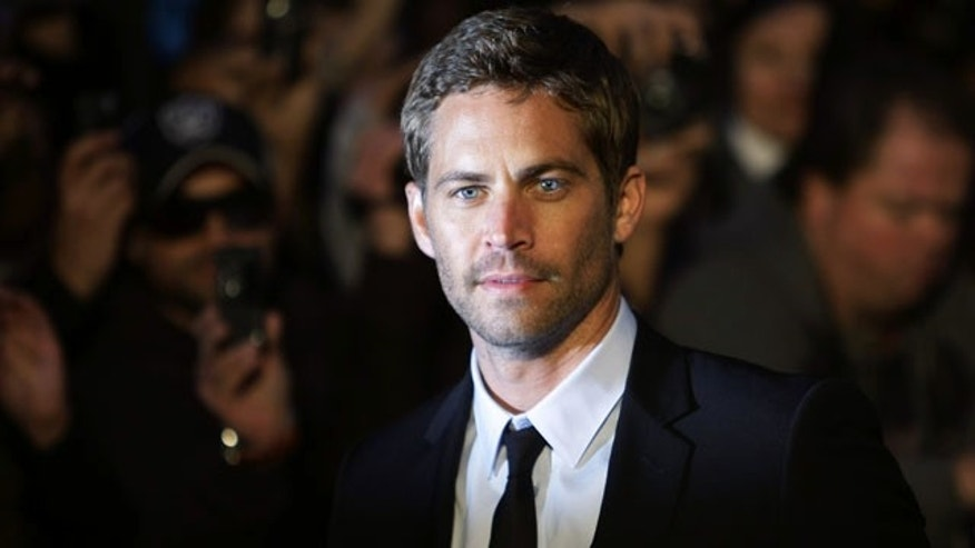 November 30, 2013: A statement on Paul Walker's official Facebook page said the actor was a passenger in the car that wrecked Saturday afternoon in Santa Clarita, Calif. (Reuters)