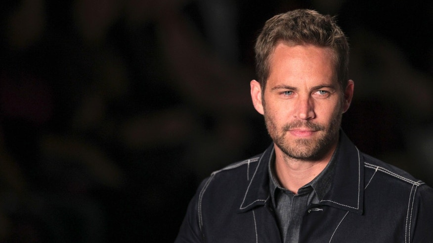 March 21, 2013. U.S. actor Paul Walker during Sao Paulo Fashion Week.