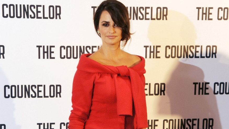 Penelope Cruz at The Dorchester on October 5, 2013 in London, England.