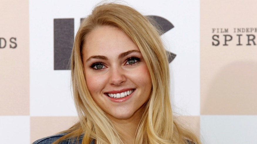 February 26, 2011. Actress AnnaSophia Robb arrives at the 2011 Film Independent Spirit Awards in Santa Monica, California.