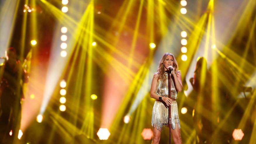November 22, 2012. Canadian singer Celine Dion performs during the Bambi 2012 media awards ceremony in Duesseldorf, Germany. The annual Bambi awards honours celebrities from the world of entertainment, literature, sports and politics.