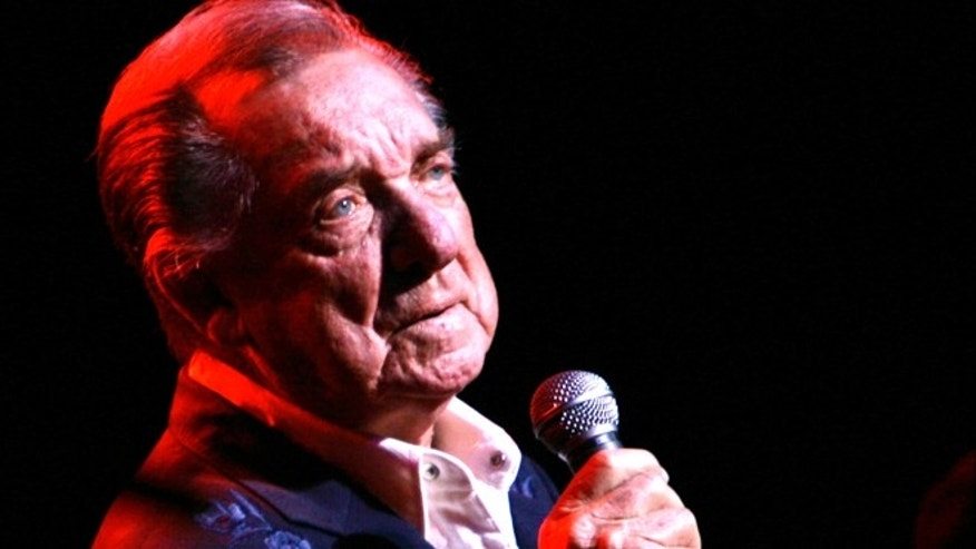 March 10, 2007: Ray Price performs at the Aladdin Theater for the Performing Arts in Las Vegas.