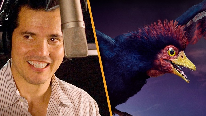 "John Lequizamo as ""Alex"" in movie ""Walking With Dinosaurs."""