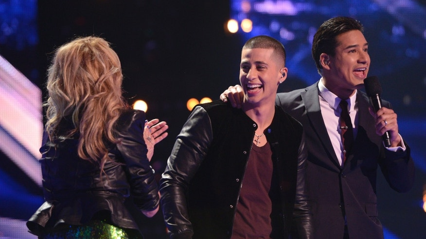 Carlito Olivero advances to the finals on THE X FACTOR airing Wednesday, Dec. 12 on FOX.
