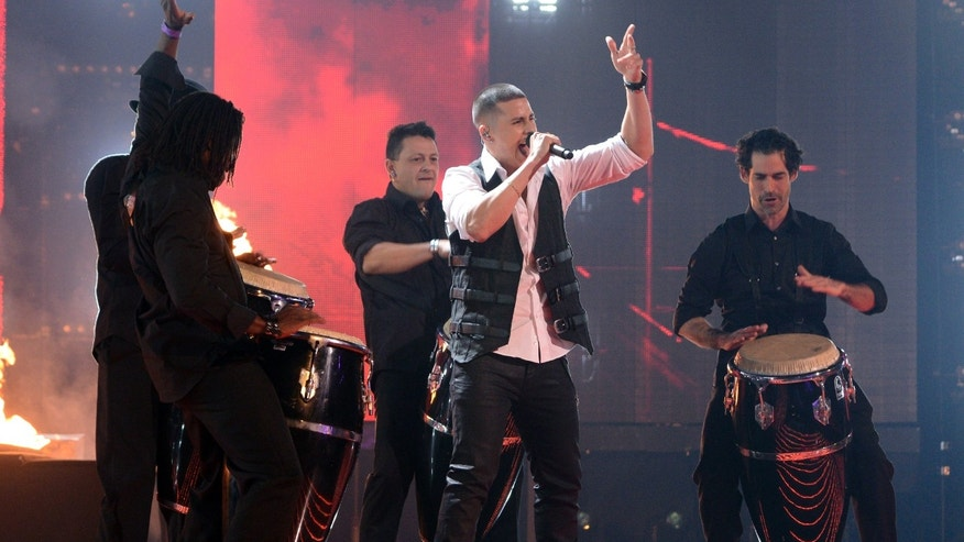 Carlito Olivero performs on THE X FACTOR airing Wednesday, Dec. 4 on FOX.