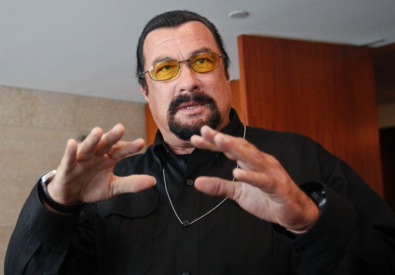 Marked for governor? Actor Steven Seagal says he's weighing bid for Arizona's highest office
