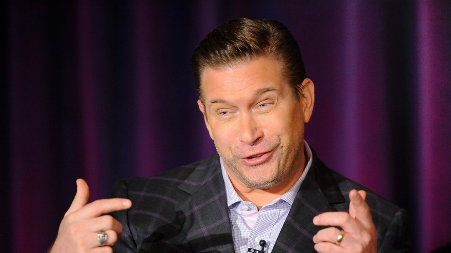 "January 6. 2013. Stephen Baldwin takes part in a panel discussion of NBC Universal]s ""All-Star Celebrity Apprentice"" during the 2013 Winter Press Tour for the Television Critics Association in Pasadena, California."