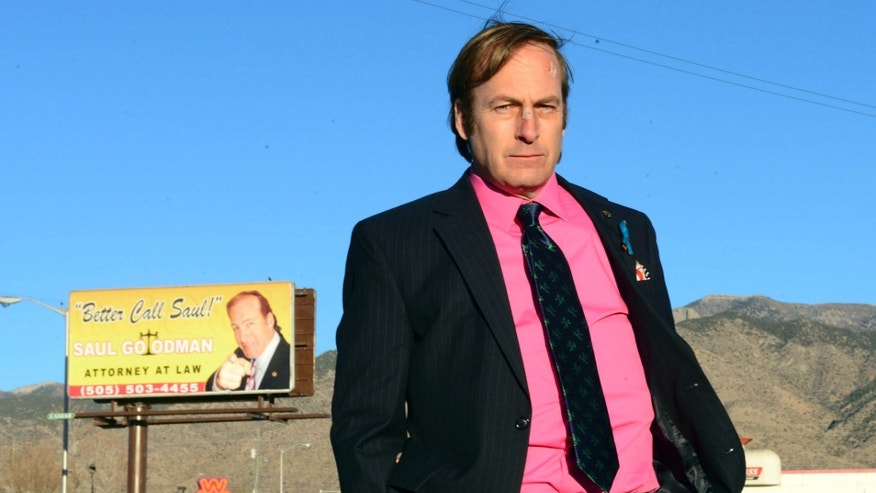 "FILE - This image released by AMC shows Bob Odenkirk in a scene from the final season of ""Breaking Bad."" AMC confirmed that Odenkirk, who plays Saul Goodman, will star in a one-hour prequel tentatively titled ""Better Call Saul."""