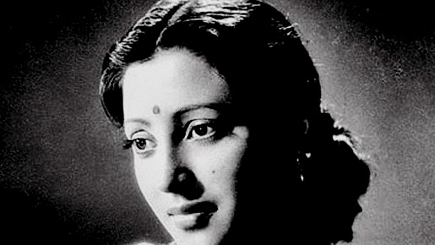 This undated photo, shows Indian Bollywood actress Suchitra Sen in Kolkata, India.