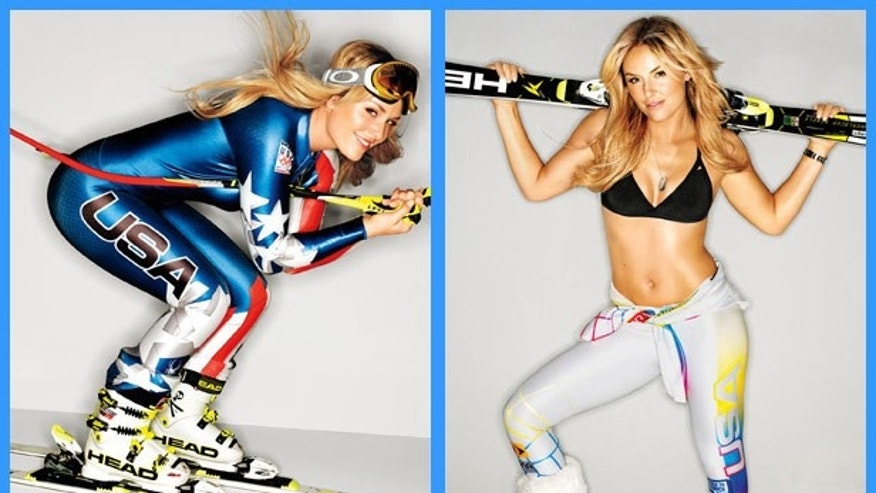 Lindsey Vonn appears in SELF magazine.