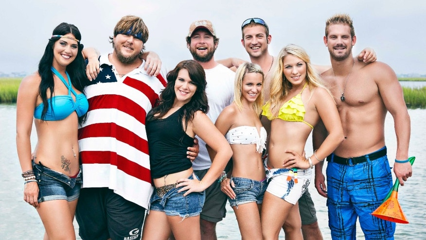 "The cast of ""Party Down South"" poses for a photo."