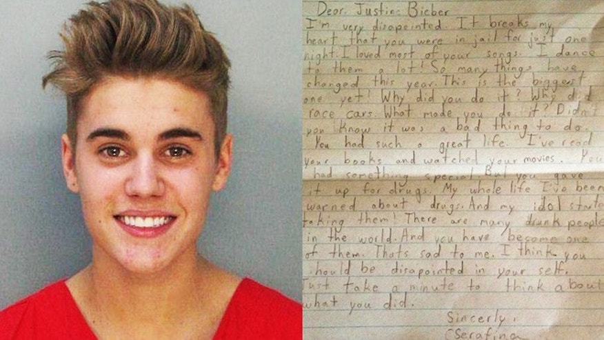 8-year-old Belieber's open letter to Justin: 'Why did you do it'?