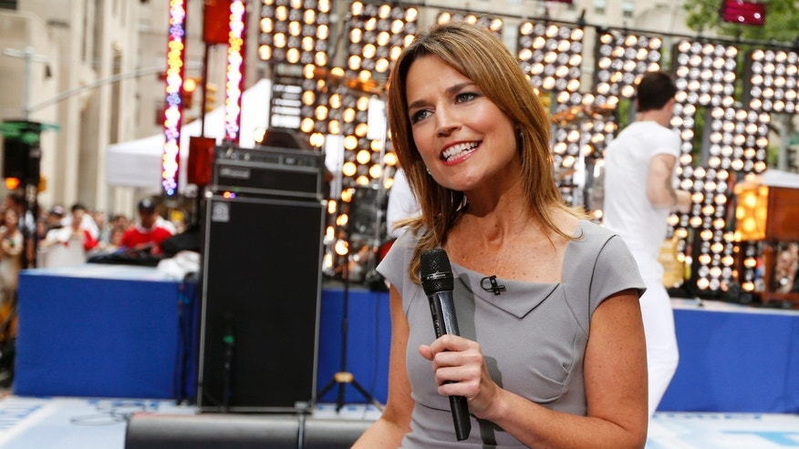 "June 29, 2012. Savannah Guthrie co-hosts NBC's ""Today"" show in New York."