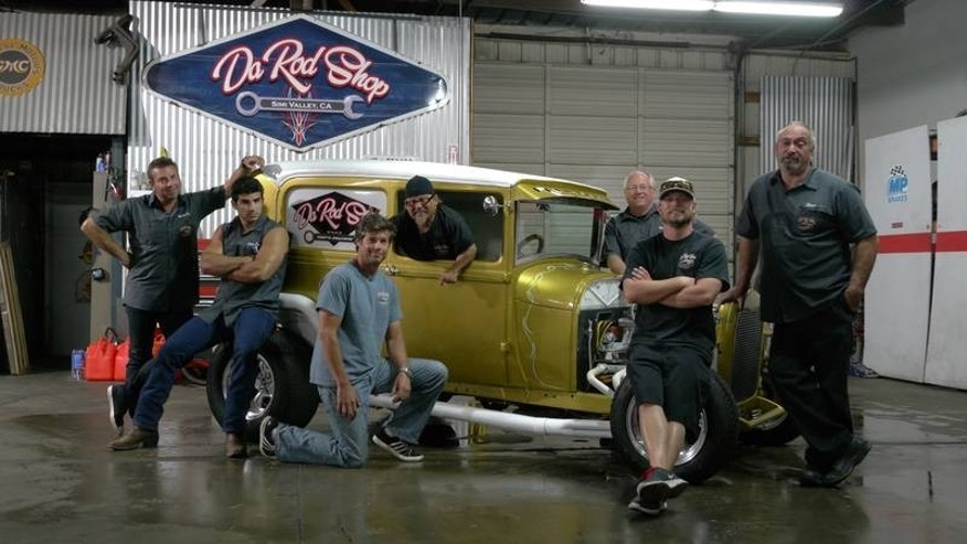 new discovery show 39 rods n wheels 39 sets out to restore cars bring american history to life. Black Bedroom Furniture Sets. Home Design Ideas