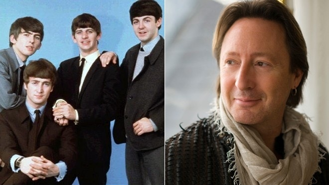 Being a Beatles baby: Julian Lennon reflects on big Beatles anniversary
