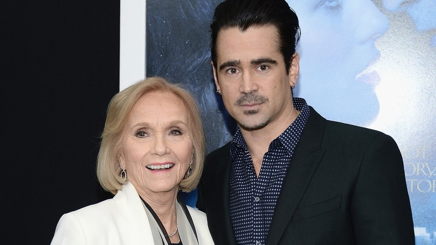 "Eva Marie Saint and Colin Farrell at the ""Winter's Tale"" premiere"