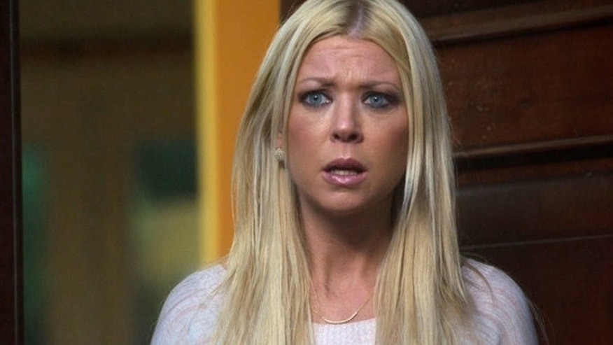 "Tara Reid is seen as April in ""Sharknado."""