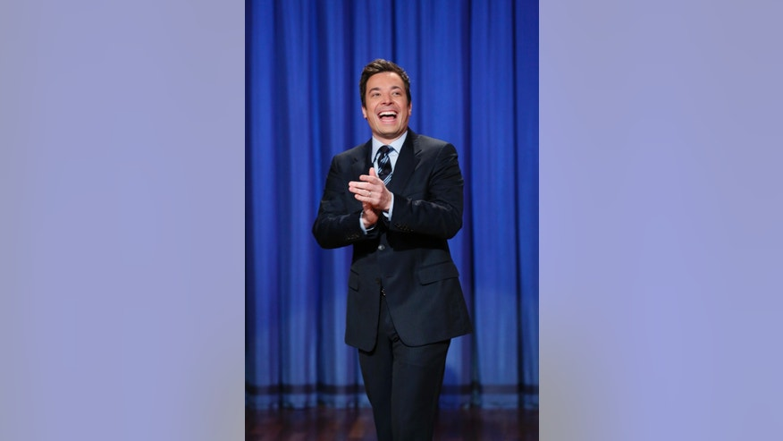 "April 4, 2013. Jimmy Fallon, host of ""Late Night with Jimmy Fallon,"" in New York.  Fallon will debut as host of his new show, ""The Tonight Show with Jimmy Fallon,"" on Feb. 17."