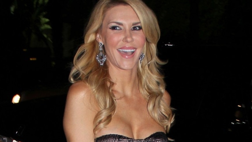 Brandi Glanville attending her 'Drinking and Tweeting', sponsored by Gilt City. January 28, 2013.  X17online.com