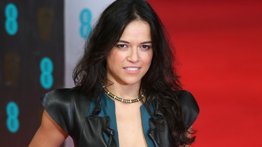 LONDON, ENGLAND - FEBRUARY 16:  Actress Michelle Rodriguez attends the EE British Academy Film Awards 2014 at The Royal Opera House on February 16, 2014 in London, England.  (Photo by Chris Jackson/Getty Images)