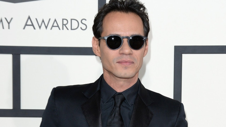 Marc Anthony attends the 56th GRAMMY Awards on January 26, 2014 in Los Angeles, California.
