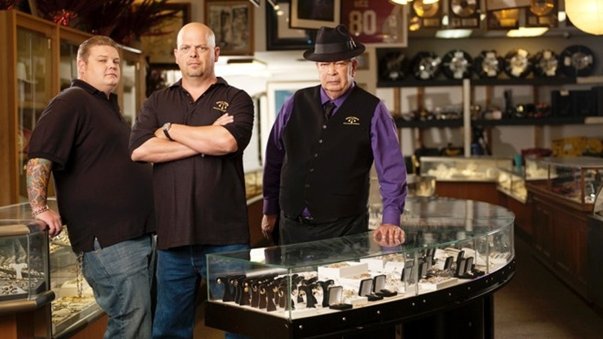 Corey Harrison, left, Rick Harrison, center and Richard Harrison are shown.