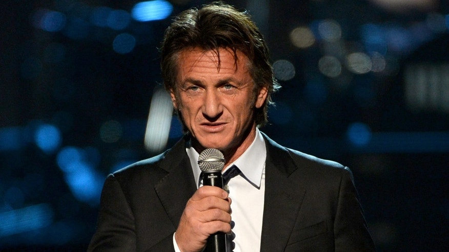 Actor Sean Penn on January 27, 2014 in Los Angeles, California.