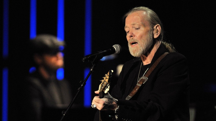 Oct. 13, 2011. Greg Allman, winner of the 2011 Americana Lifetime Achievement Performer Award,  performing at the Americana Music Association awards show in Nashville, Tenn.