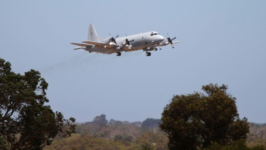 A Royal Australian Air Force P-3 Orion aircraft takes off from RAAF Base Pearce near Perth, to search for the missing Malaysia Airlines flight MH370 over the southern Indian Ocean, March 23, 2014.