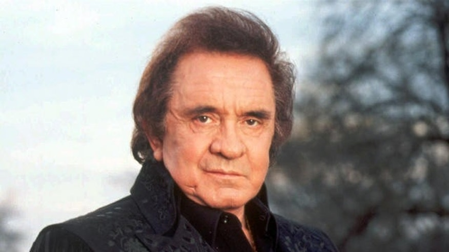 Johnny Cash is seen in this 1995 file photo.