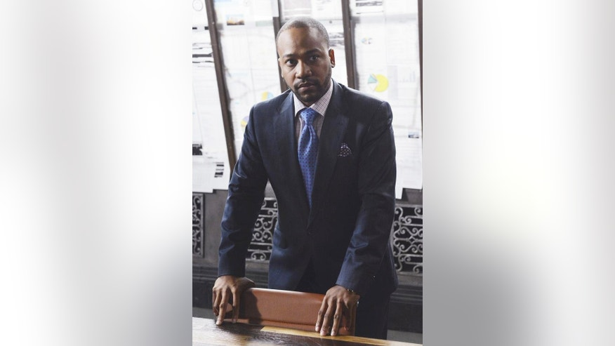 "Columbus Short is seen as Harrison on ABC's hit show ""Scandal."""