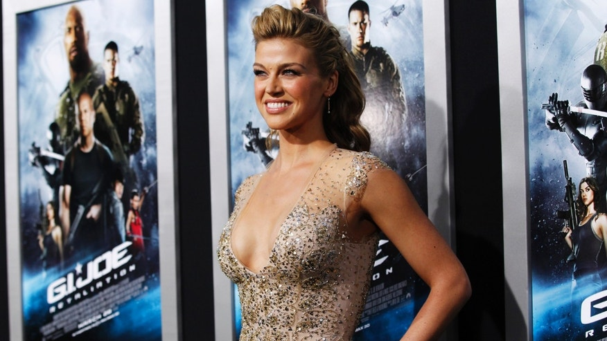 "Cast member Adrianne Palicki poses at the premiere of ""G.I. Joe: Retaliation"" in Hollywood, California March 28, 2013. The movie opens in the U.S. on March 28.   REUTERS/Mario Anzuoni  (UNITED STATES - Tags: ENTERTAINMENT) - RTXY1IA"